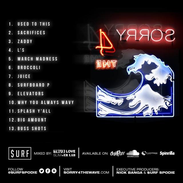 sorryforthewave tracklist